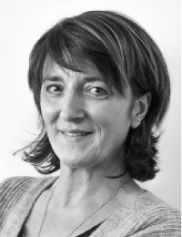 Nathalie Zoppé secrétaire-comptable de l'association Iris